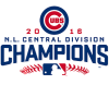 2016 National League Champions Chicago Cubs